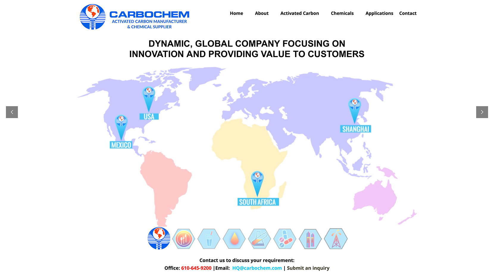 Carbochem - Website: https://carbochem.com