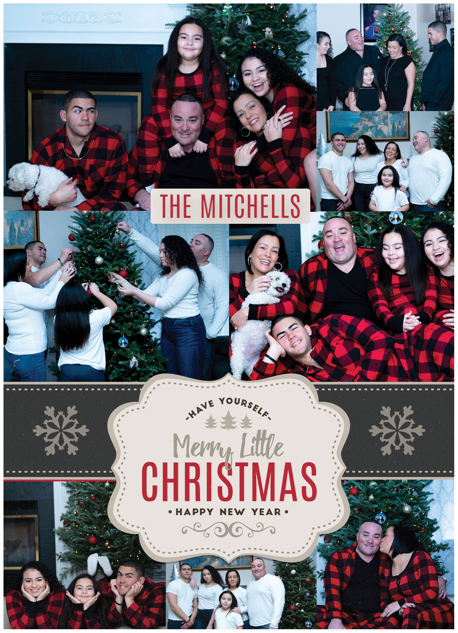 The Mitchells Christmas Photo Shoot - Christmas Photo Shoot